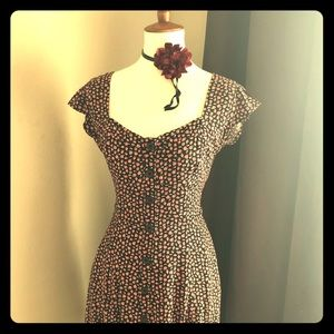 Floral Dress (never been worn)